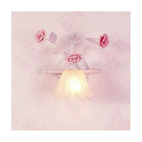 Traditionell E27 Wandlampe Keramik Blumen WandLampen Florentiner Stile Metall Wandleuchte deko blumen blätter Wandleuchten Klassisch Wandbeleuchtung für Wohnzimmer Schlafzimmer Korridor Nachtlicht -