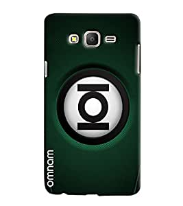 Omnam Ioi Ball With Green Base Printed Designer Back Cover Case For Samsung Galaxy On 7