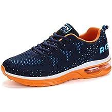 77c7f32cbcfdc Flarut Hombre Zapatos para Correr en Montaña y Asfalto Aire Libre y Deportes  Zapatillas de Running