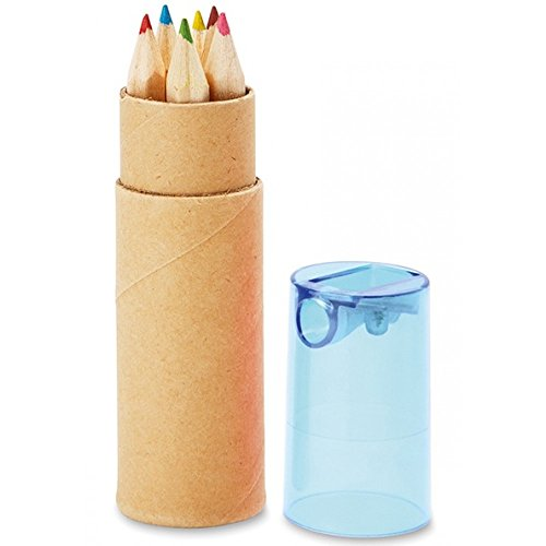 10 Buntstifte Sets mit Spitzer für Kinderparty Hochzeit Restaurant Geschenk...