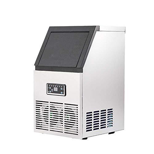 LNTE Mini Eismaschine Kleine Vollautomatische Intelligente Fang Bing Eismaschine/Eismaschine Gewerbliche Haushaltsmilch Tee Shop Hotel Bar KTV Top Eismaschine Silbergrau