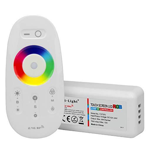 Lighteu®, telecomando 2.4g led e controller rf per le strisce led rgb, fut025