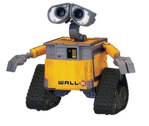 Disney Pixar WALL-E Movie Figure Old WALL-E by Thinkway TOY (Wall-e Pixar)