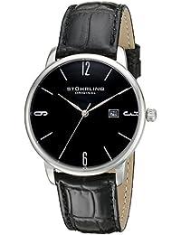 Stuhrling Original Ascot 997L.02 - Reloj de pulsera Cuarzo Hombre correa dePiel Negro