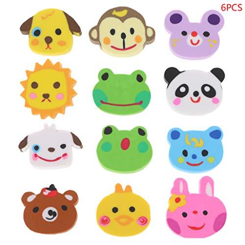 Collectibles Holiday & Seasonal Bright Iwako Japanese Erasers Random Animals 10p Girl`s Set Party Favor Reward Kawaii Evident Effect
