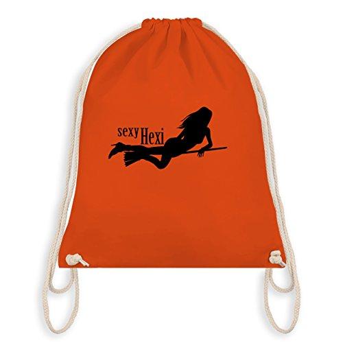 Halloween - striking Hexy - Unisize - Orange - WM110 - Turnbeutel I Gym Bag