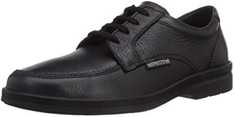 Mephisto Janeiro Natural 7200 Black - Zapatos de Cordones para Hombre