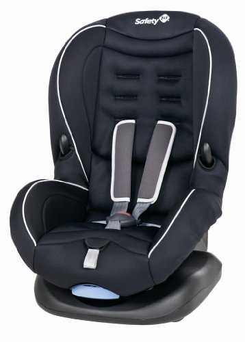 Safety 1st 75406490 - Baby Cool Plus Kinderautositz Gruppe 1 (ab ca. 9 Monate bis 3,5 Jahre), Black sky