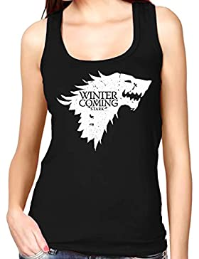 35mm - Camiseta Mujer Tirantes - Game Of Thrones Winter Is Coming - Women'S Tank Top