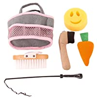 Gotz 3402637 Black Beauty Care Set For Plush Horses - Doll And Playing Horses Accessorie - Suitable Agegroup 3+