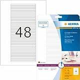HERMA Etiketten CD-Box weiß 114,3x5,5mm Special A4