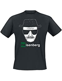 Breaking Bad - T-Shirt Heisenberg - Mr. White - Noir