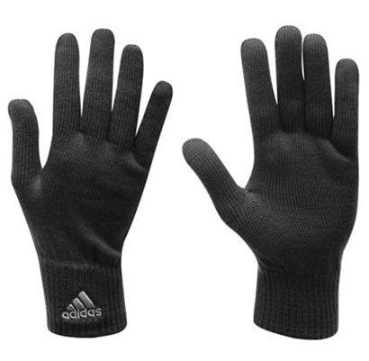 adidas Strickhandschuhe schwarz