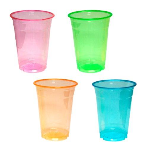 Plastic cups Halloween Christmas soft Neon 16 oz. Soft Plastic Cups 16 oz neon? (japan (Cups Halloween Plastic)
