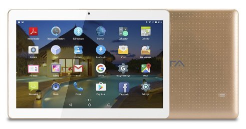 Tablet PC 10 Zoll(10.1) BEISTA -(Android 7.0,2G+32GB Memory, Quad Core,3G Dual Sim, GPS,Wifi/WLAN, USB,OTG)-Golden