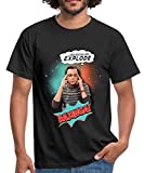 The Big Bang Theory Sheldon Head Will Explode Männer T-Shirt von Spreadshirt®, L, Schwarz