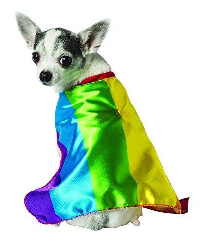 Rasta Imposta Hundekostüm Regenbogenflagge