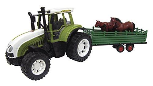 Team Power 11482755cm Reibung Traktor Anhänger mit Tiere