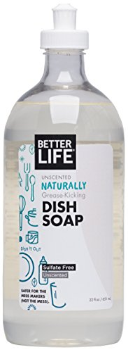 Better Life Dish It Out Dish Soap Unscented, 22 oz - 651 ml