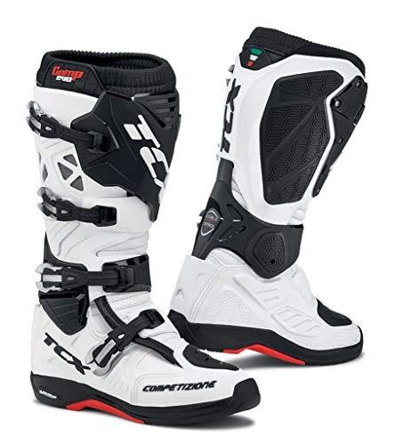 Tcx Comp Off-road-boot (TCX Comp Evo 2 Michelin Motocross Stiefel 43 Weiß)