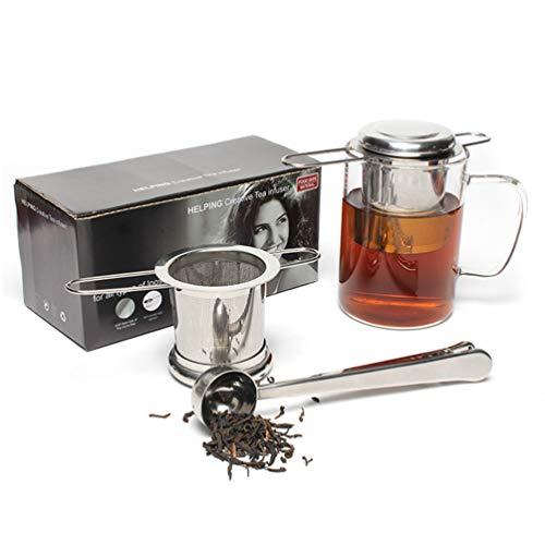 Cavose Loose Leaf Tea Infuser Set Passoire Filtre à thé...