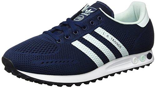 adidas la Trainer Em, Scarpe da Ginnastica Basse Uomo Blu (Collegiate Navy/Ice Mint/Ftwr White)