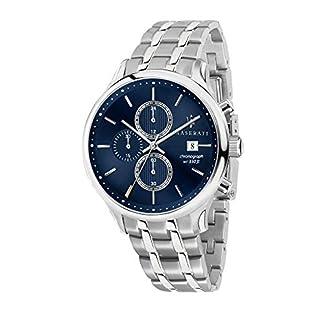 Reloj para Hombre, Colección Gentleman, con Movimiento de Cuarzo y función cronógrafo, en Acero – R8873636001
