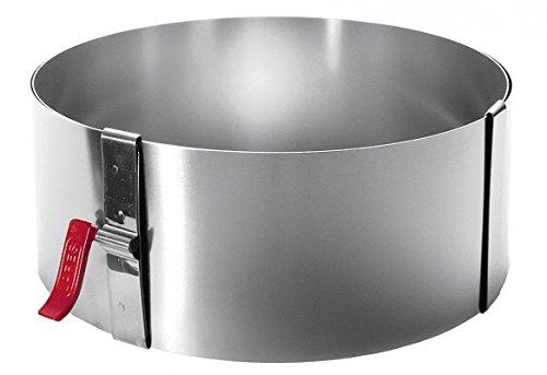LARES 6008Verstellbarer Edelstahl-Ring mit Schließsystem
