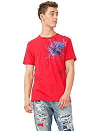Desigual Ts_mississippi, T-Shirt Homme