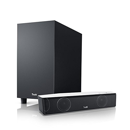 Teufel Cinebar One+ Weiß/Schwarz Soundbar Sounddeck Surround Dolby digital HD ARC CEC 3D 5.1 HD Sound Blu-ray Blu-ray-System Koaxial DD Digital
