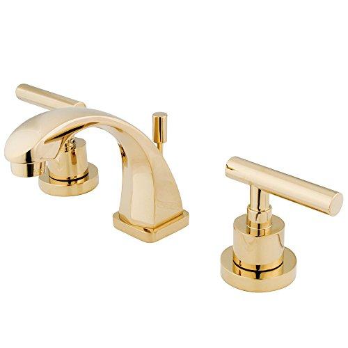 Nuvo Elements of Design es4942cml Sydney Mini-Widespread WC Wasserhahn, 3-7/20,3cm Messing poliert