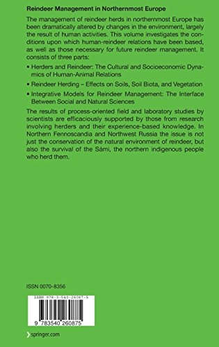 Reindeer Management in Northernmost Europe: Linking Practical and Scientific Knowledge in Social-Ecological Systems (Ecological Studies)