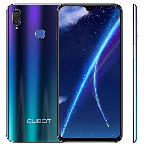 Cubot R15 (2019) Android 9.0 Dual SIM Smartphone ohne Vertrag, 6.26 Zoll Waterdrop-Notch HD Display mit 3000 mAh Akku, 2GB Ram+16GB interner Speicher, Hauptkamera 13MP+2MP / Frontkamera 8MP, Gradient Dual-sim