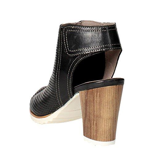 Grunland SA1370-30 Sandale Femme Noir