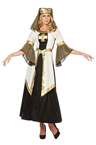 Lady Camelot Kostüm für Damen-Damen 46 (Camelot Für Erwachsenen Kostüm)