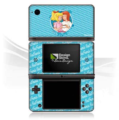 DeinDesign Skin kompatibel mit Nintendo DSi XL Aufkleber Sticker Folie Bibi und Tina Fanartikel Merchandise Maedchen