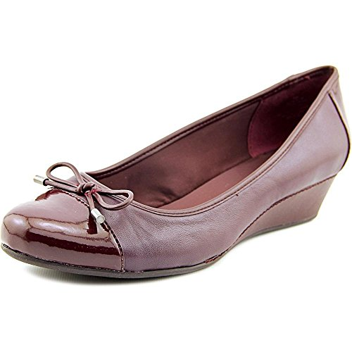 easy-spirit-davalyn-women-us-5-burgundy-wedge-heel