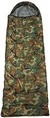 Generic And Generic All Seasons 220X70Cm Waterproof Adult Sleeping Bag For Adventure Trips (Camouflage)
