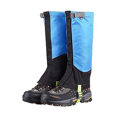 XIAXIACP Skischuhe Gamaschen, Desert Gamaschen Desert Abriebfeste Oxford Outdoor Warme Schuhe Decken Reinigung für Bergwandern Wandern Klettern,C von XIAXIACP - Outdoor Shop