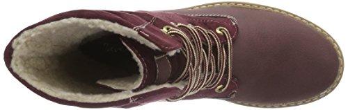 Jane Klain - Boot, Stivali a metà gamba con imbottitura pesante Donna Rosso (Rot (570 Wine))