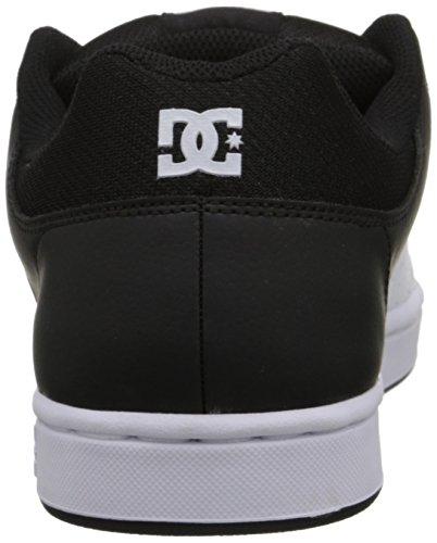 DC - Wallon S Hommes Low Top Chaussures noir/blanc