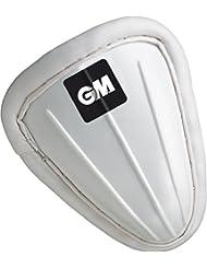 Gunn & Moore Cricket Deportes Batsman protección acolchado Protector Abdominal Blanco, color blanco, tamaño hombres