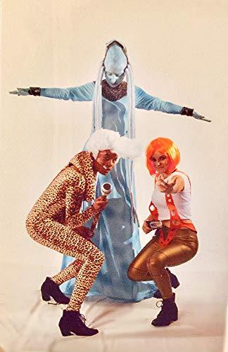 Xcoser Leeloo Strapshalter Flexiable Größe Kostüme Cosplay Requisite Weihnachten Party - - (Element Fünfte Leeloo)