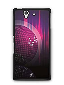 YuBingo Disco Background Mobile Case Back Cover for Sony Xperia Z