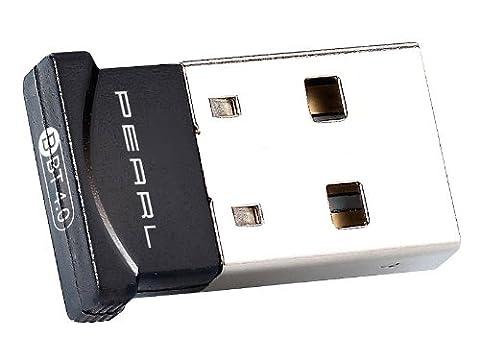 Pearl Ultra Mini Bluetooth 4.0Adaptateur USB, classe 1, EDR + CSR, 100m
