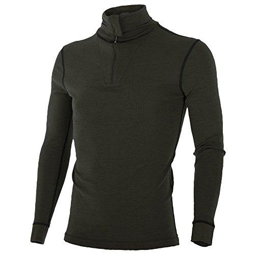 Brynje Zip-Poloshirt Classic oliv Größe - Brynje Unterwäsche