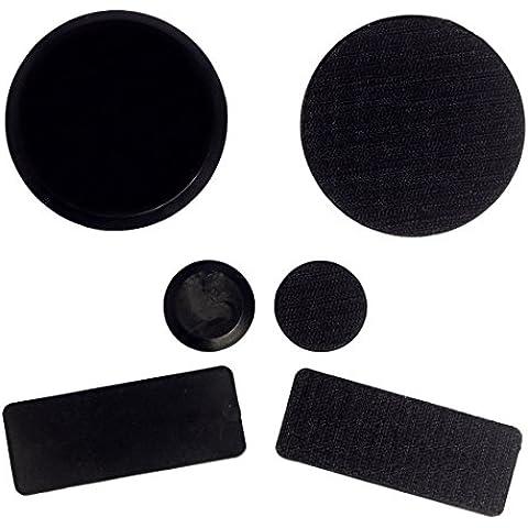 Andux Zone pucks di skateboard - attenersi ai guanti sostituzione protezioni (nero arancione rosa verde) STHK-01 (nero)