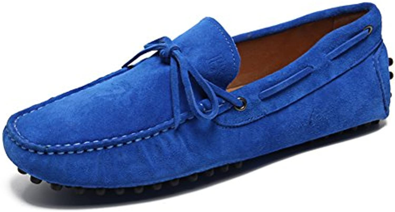 QIDI-Men's scarpe, Espadrillas Basse Uomo Uomo Uomo Blu blu EU39 UK6.5   Design affascinante  b1b302