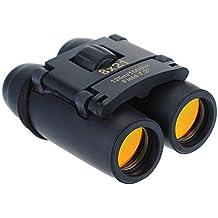8 x 21 Zoom Mini Binoculares, Pictek Prismáticos Plegables. Incluye Bolsa de Transporte y Paño de Limpieza