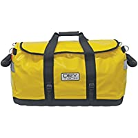 Extreme Max 3006.7354 Dry Tec Water-Repellent Zippered Duffel Bag, Small (26.5 Liter) / Yellow by Extreme Max